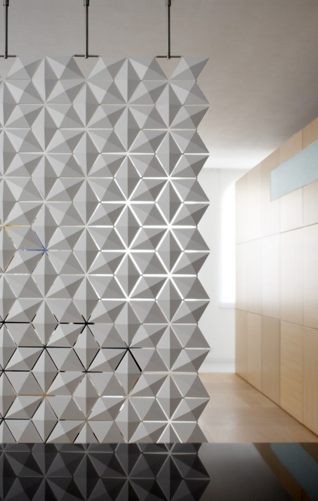 Hanging Room Divider Facet
