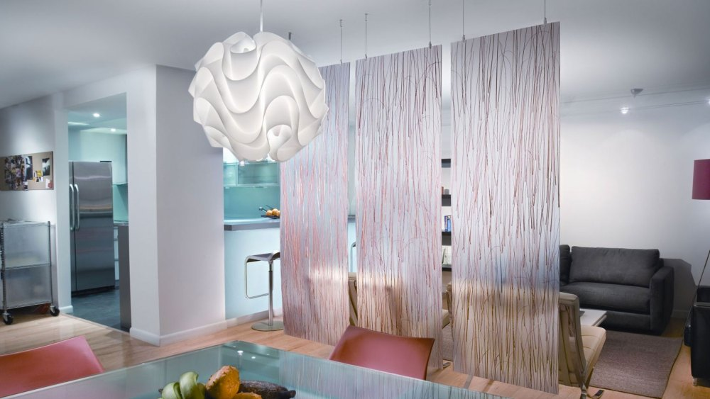 Hanging Room Divider Panels
