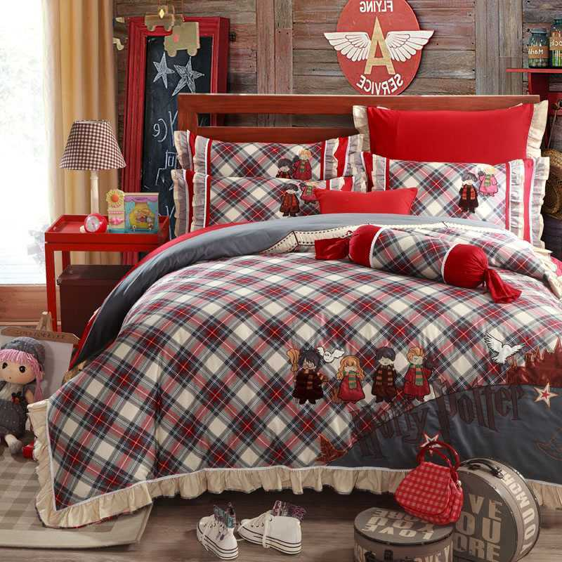 Harry Potter Comforter Set King