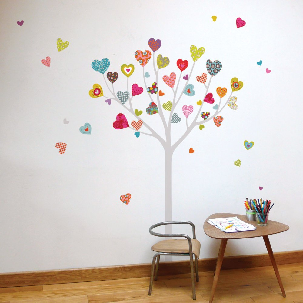 Heart Tree Wall Decal