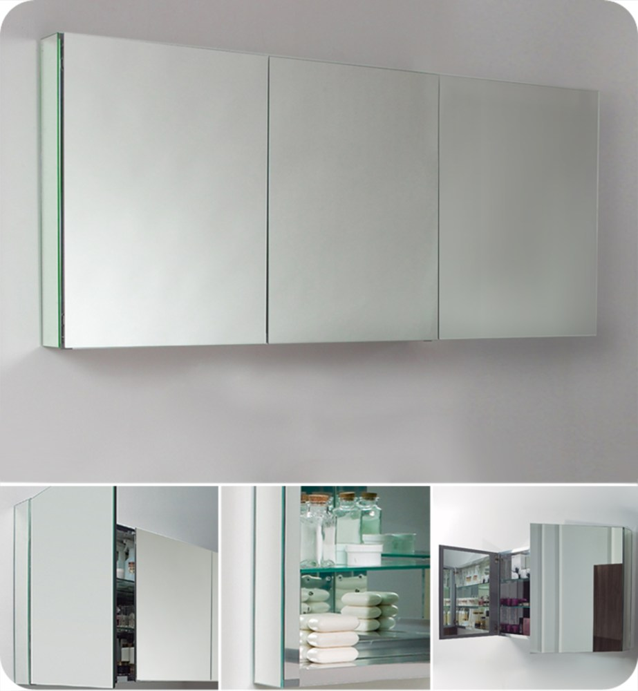 Heated Bathroom Mirror Cabinet