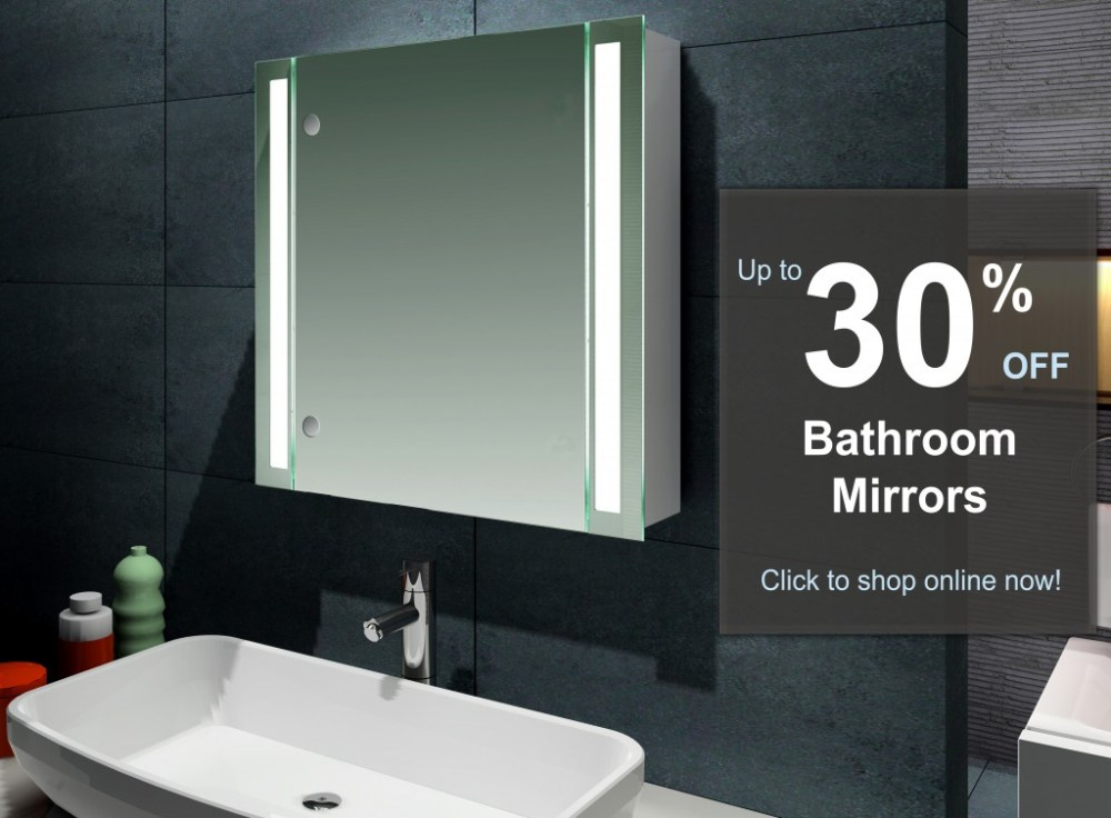 Heated Bathroom Mirrors