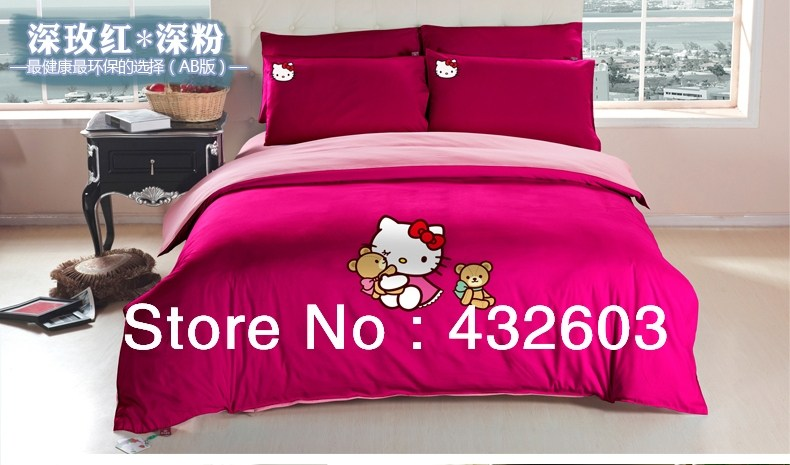 Hello Kitty Queen Comforter Set