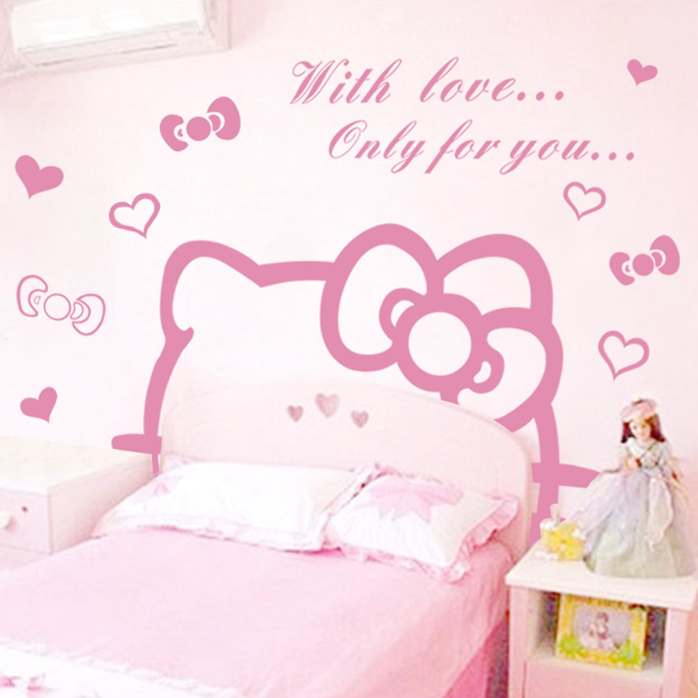 Hello Kitty Wall Decals Target