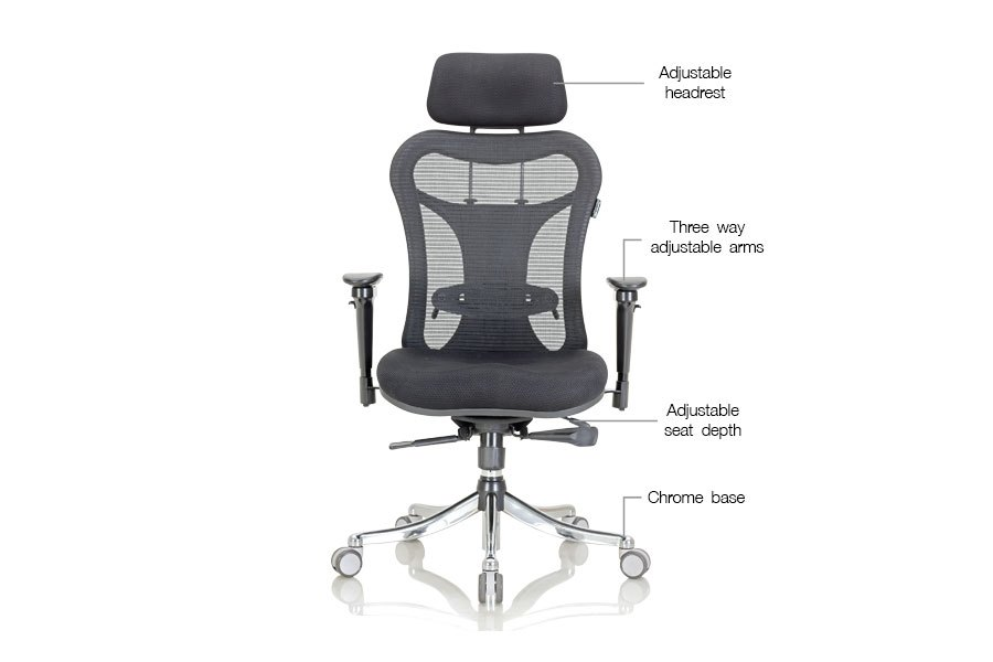 High Back Office Chairs India