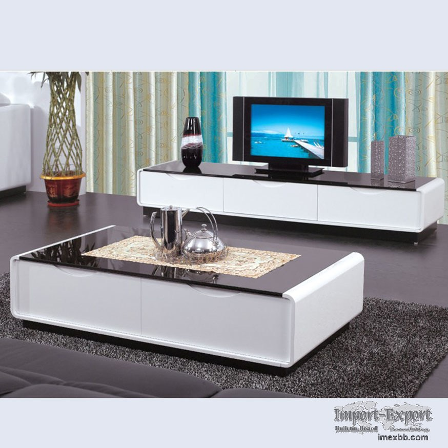 High Gloss Tv Stand And Coffee Table