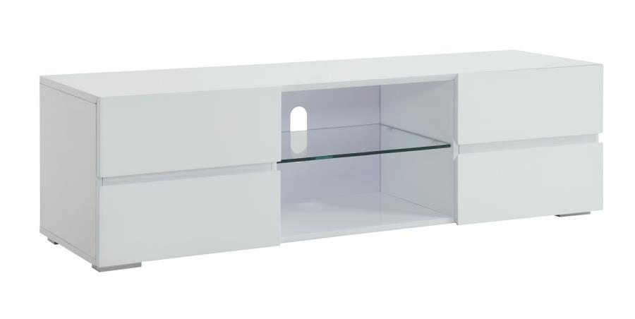 High Gloss Tv Stand White