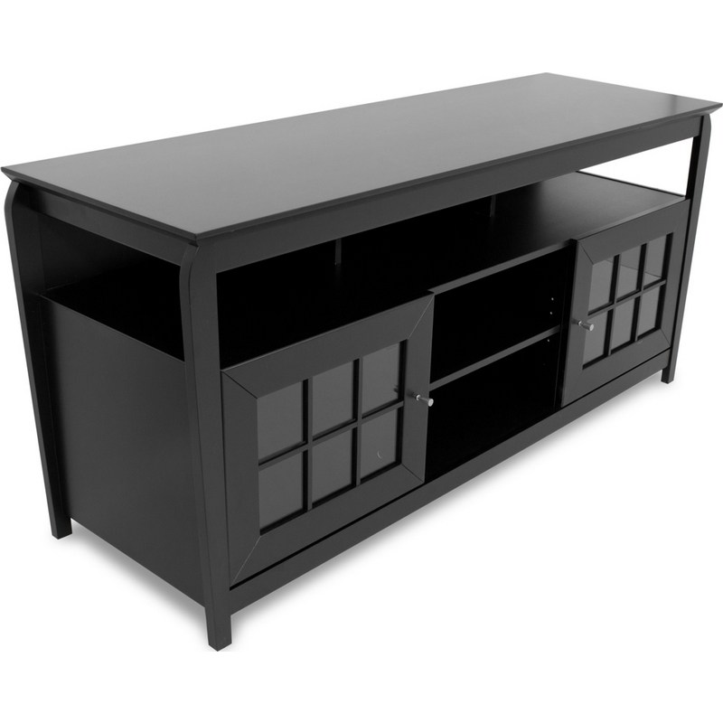 Highboy Tv Stand Black