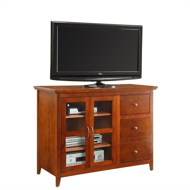 Highboy Tv Stand Cherry