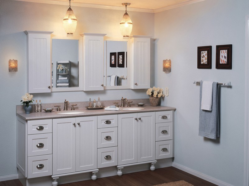 Home Depot Bathroom Cabinets White