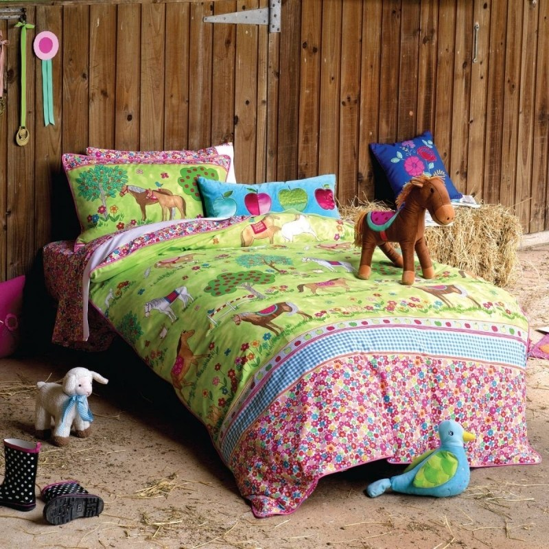 Horse Comforter Sets For Girls