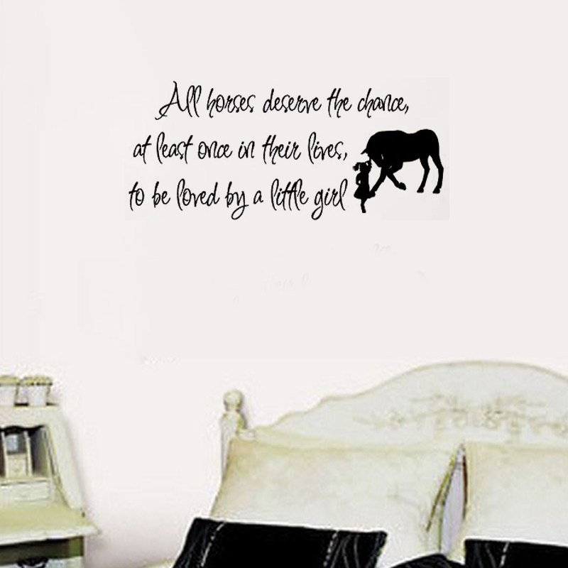 Horse Quote Wall Decals