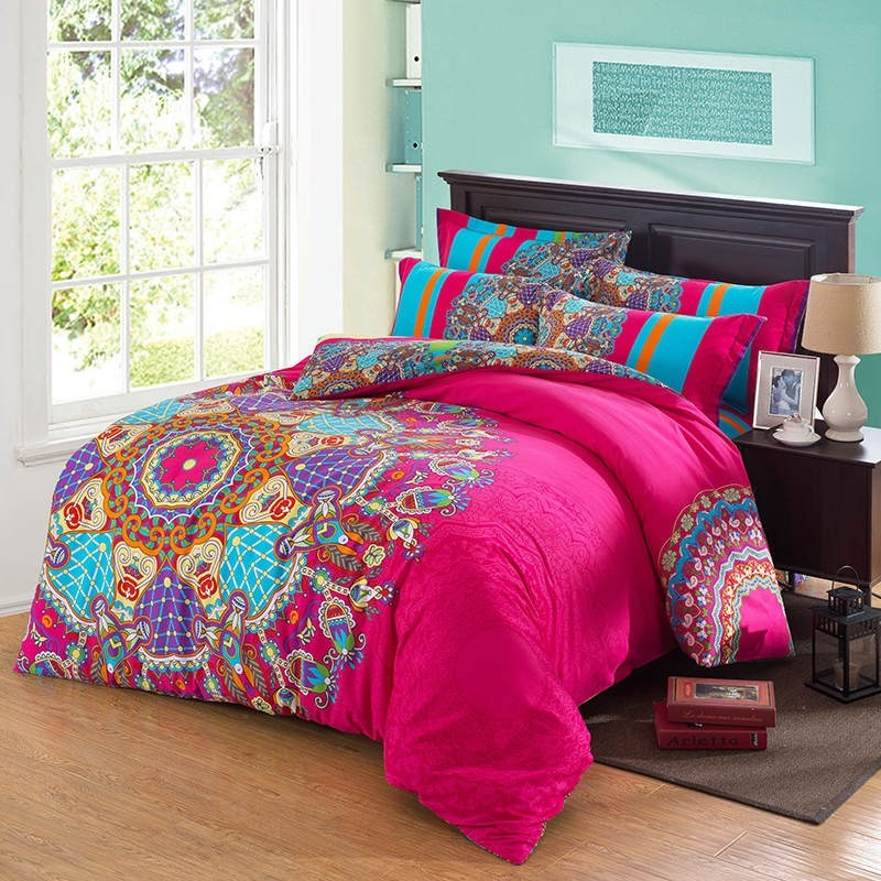 Hot Pink Comforter Sets Queen