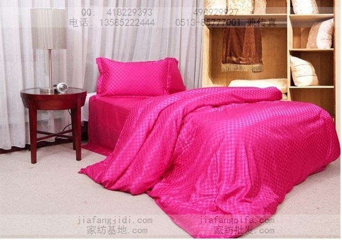 Hot Pink Queen Comforter Set