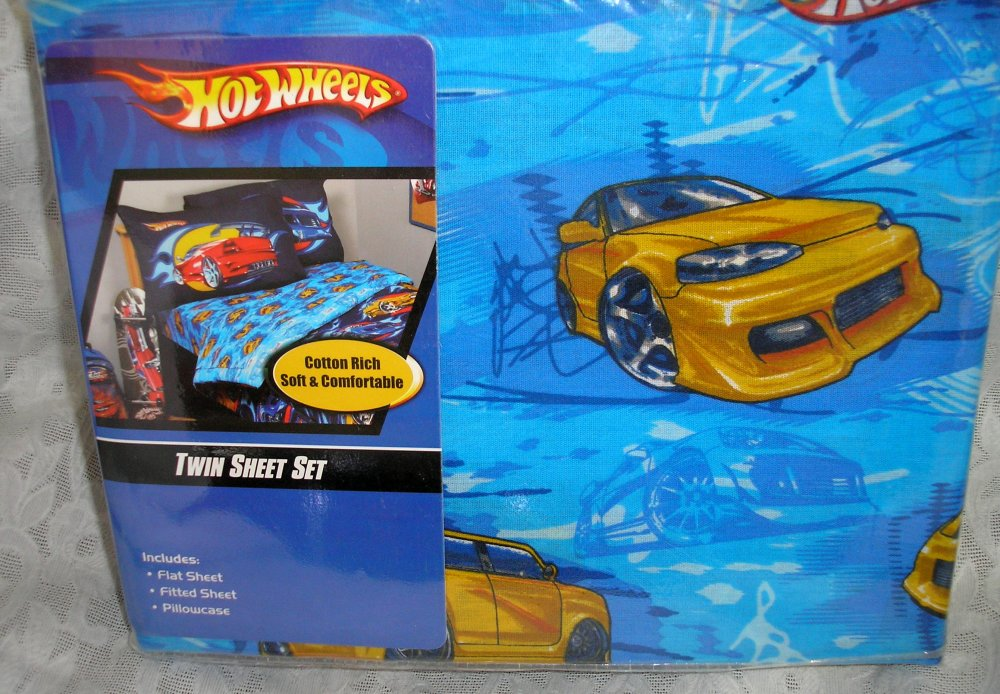 Hot Wheels Comforter Set
