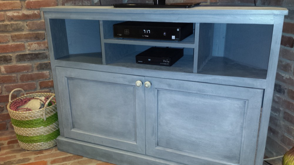 How To Build A Corner Tv Stand
