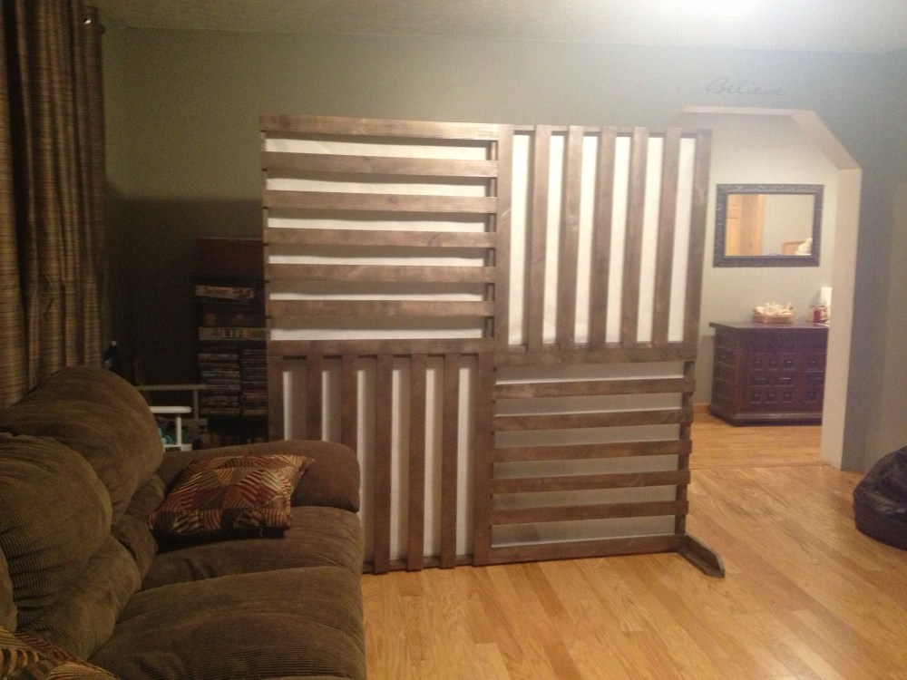 How To Build A Room Divider Screen