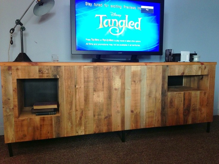 How To Build A Tv Stand From Pallets