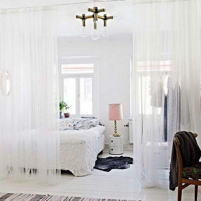 How To Divide A Room With Curtains