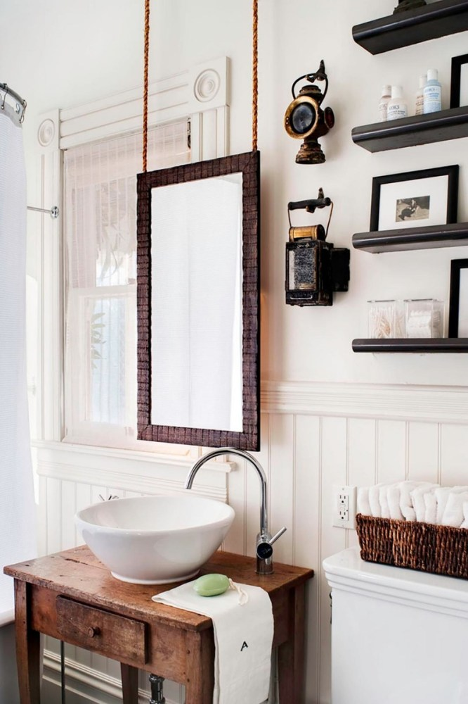 How To Frame A Bathroom Mirror With Wood