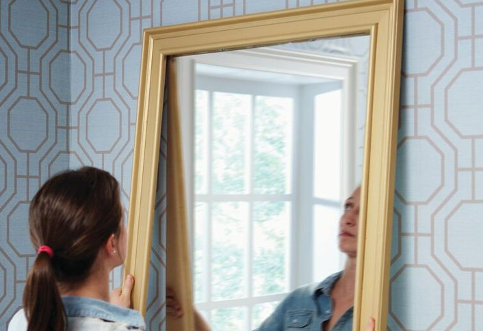 How To Hang A Bathroom Mirror On The Wall