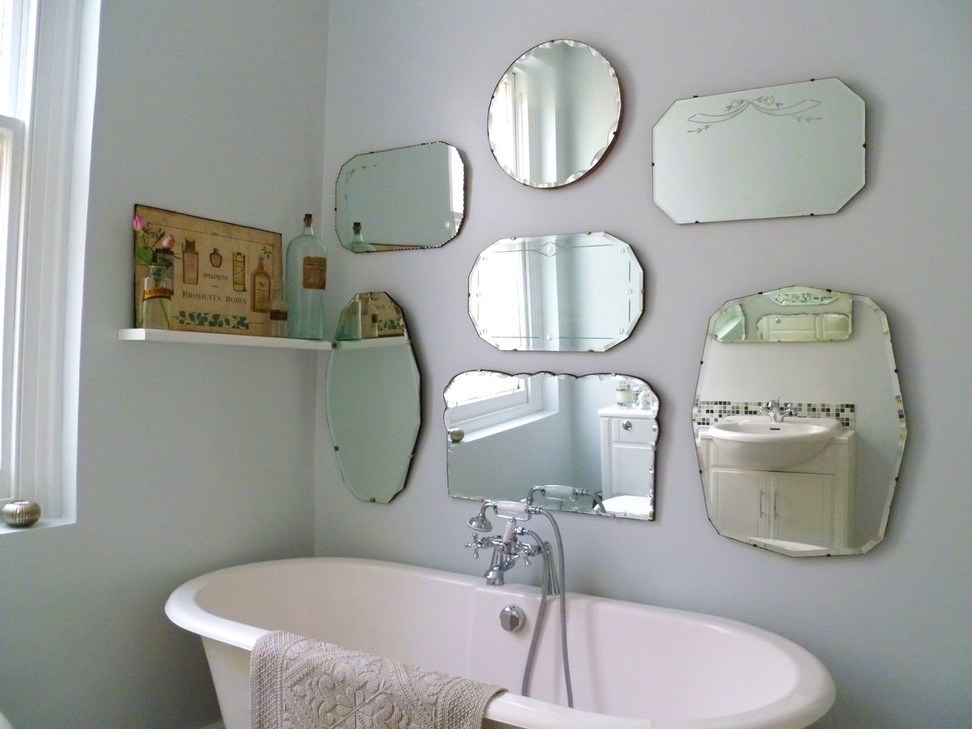 How To Hang A Bathroom Mirror With Clips