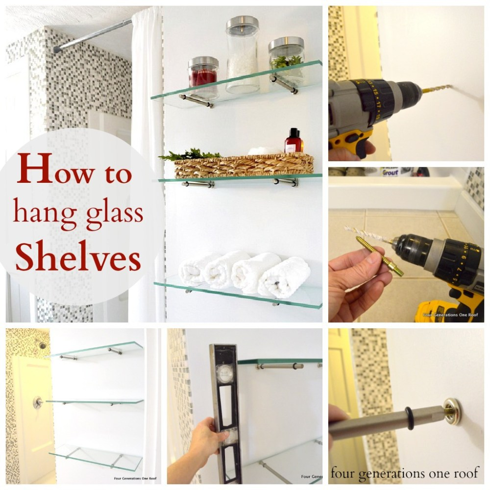 How To Hang Floating Shelves