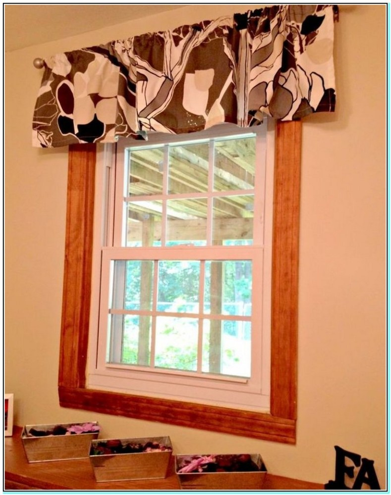 How To Make A Curtain Valance