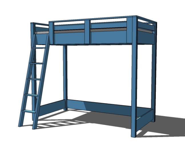 How To Make A Kids Loft Bed