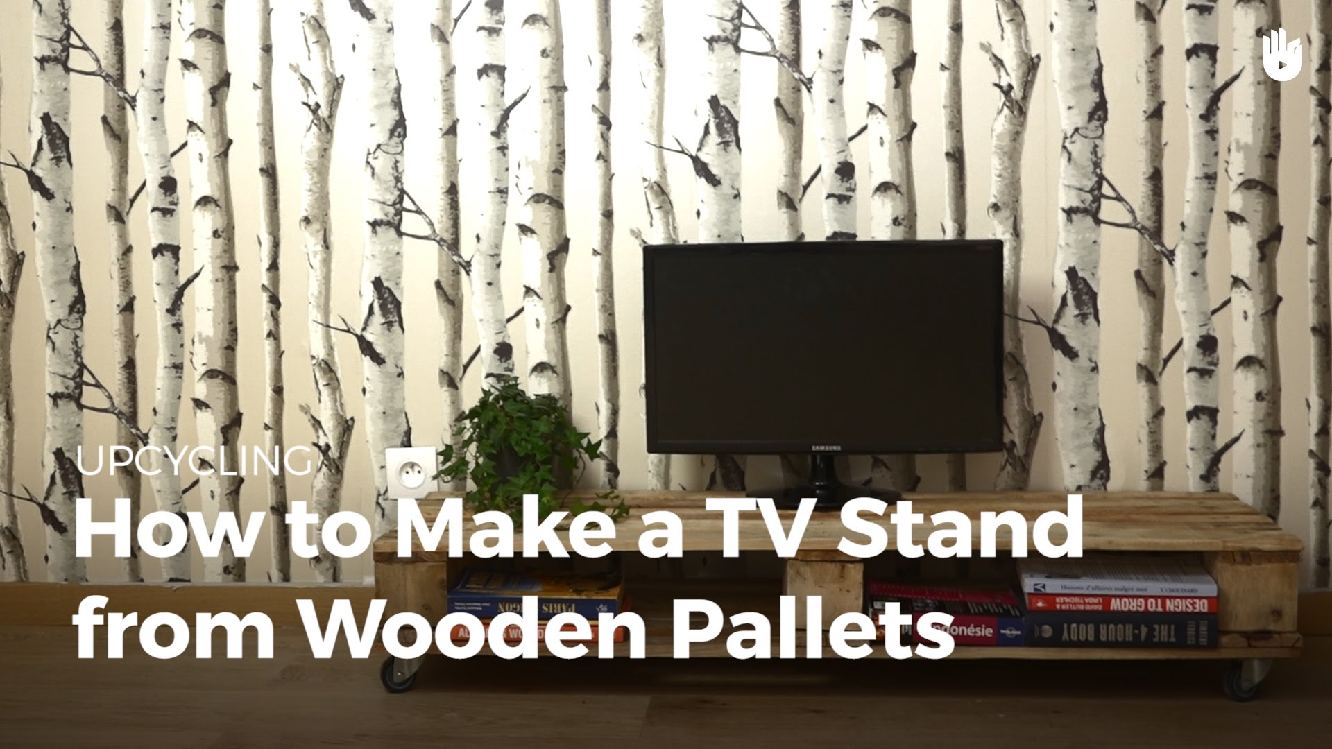 How To Make A Tv Stand From Pallets