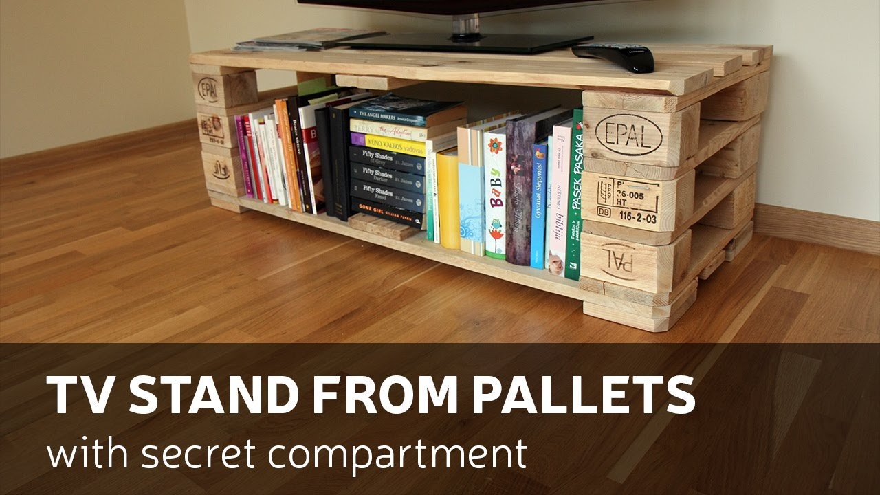 How To Make A Tv Stand With Pallets