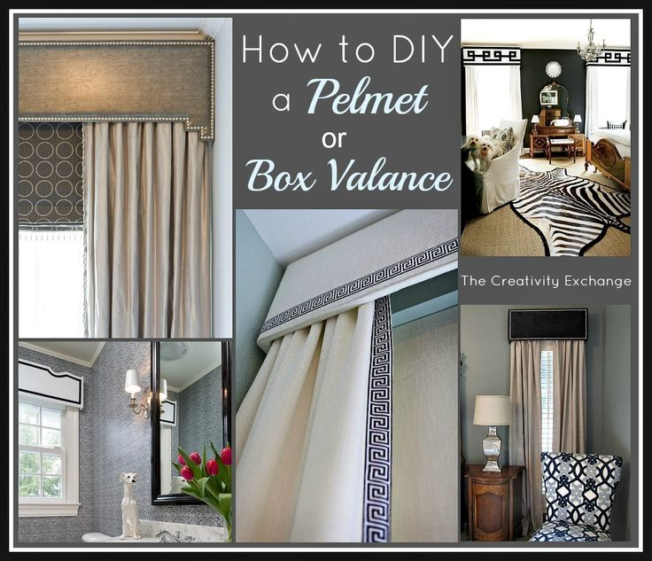 How To Make A Window Valance Box