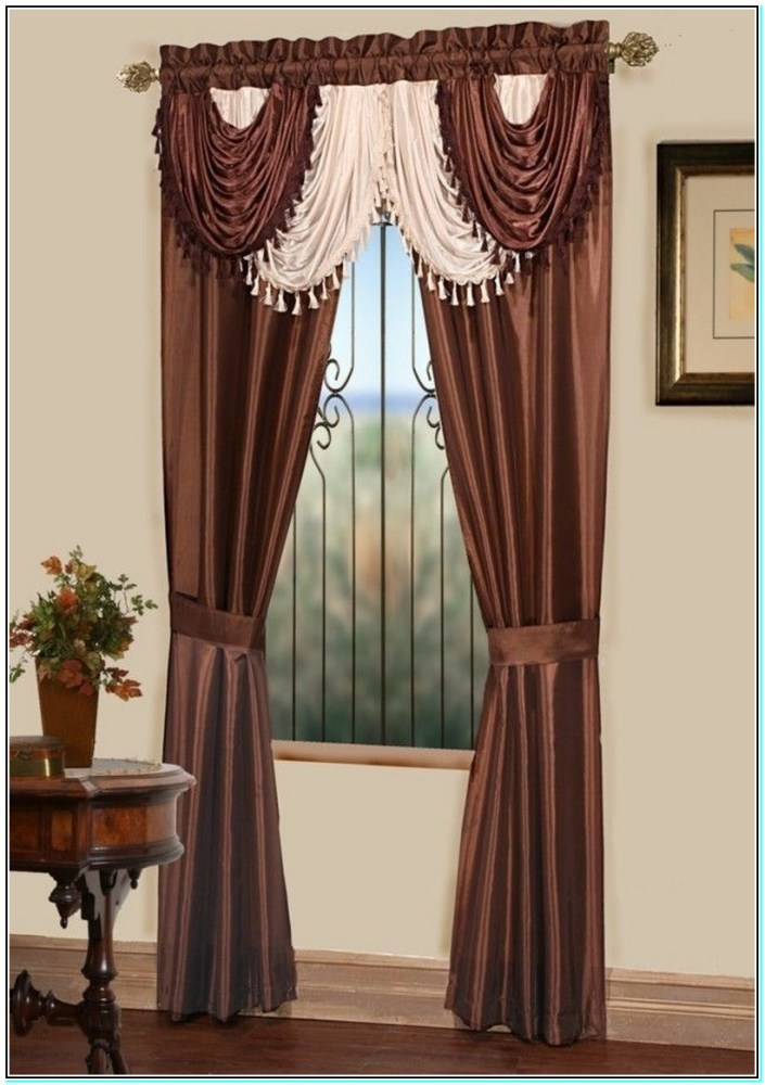 How To Make A Window Valance Curtain
