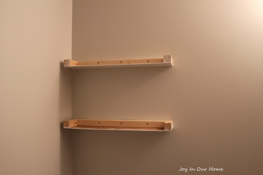 How To Make Corner Floating Shelves