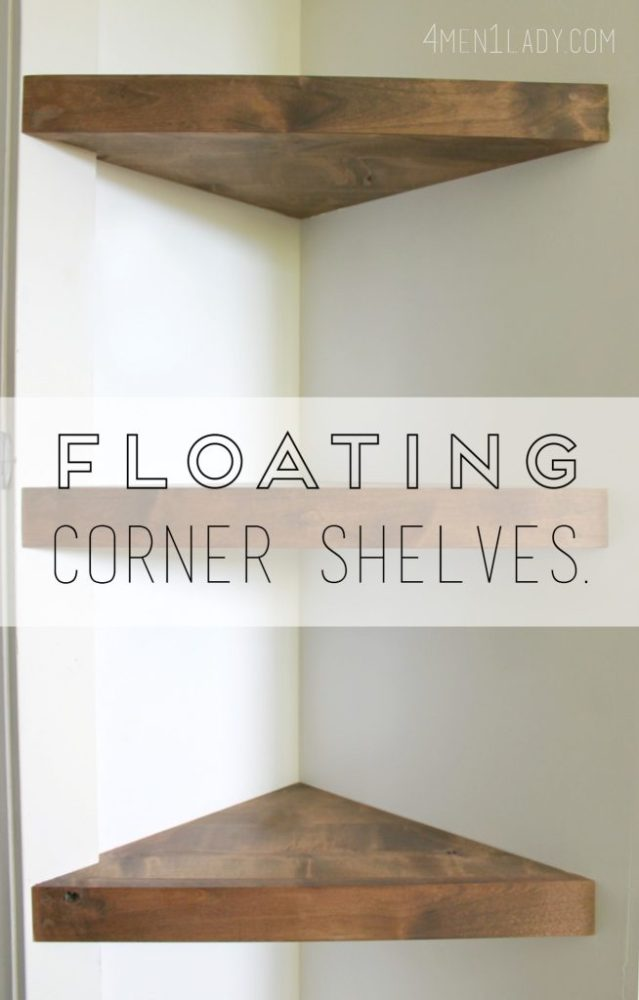 How To Make Floating Shelves With Solid Wood