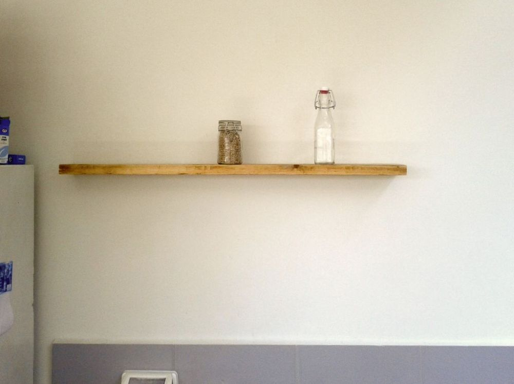 How To Make Floating Wall Shelves