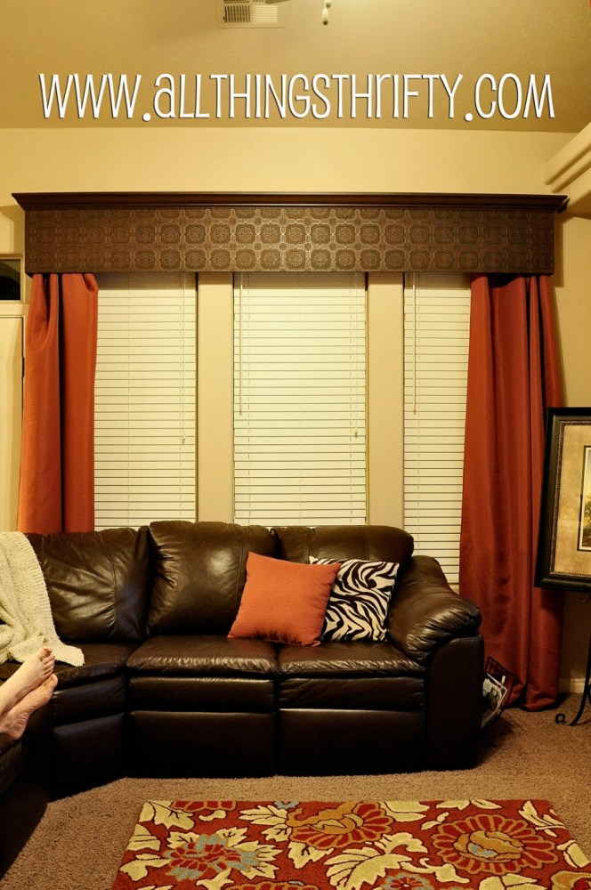 How To Make Valance Curtains Without Sewing