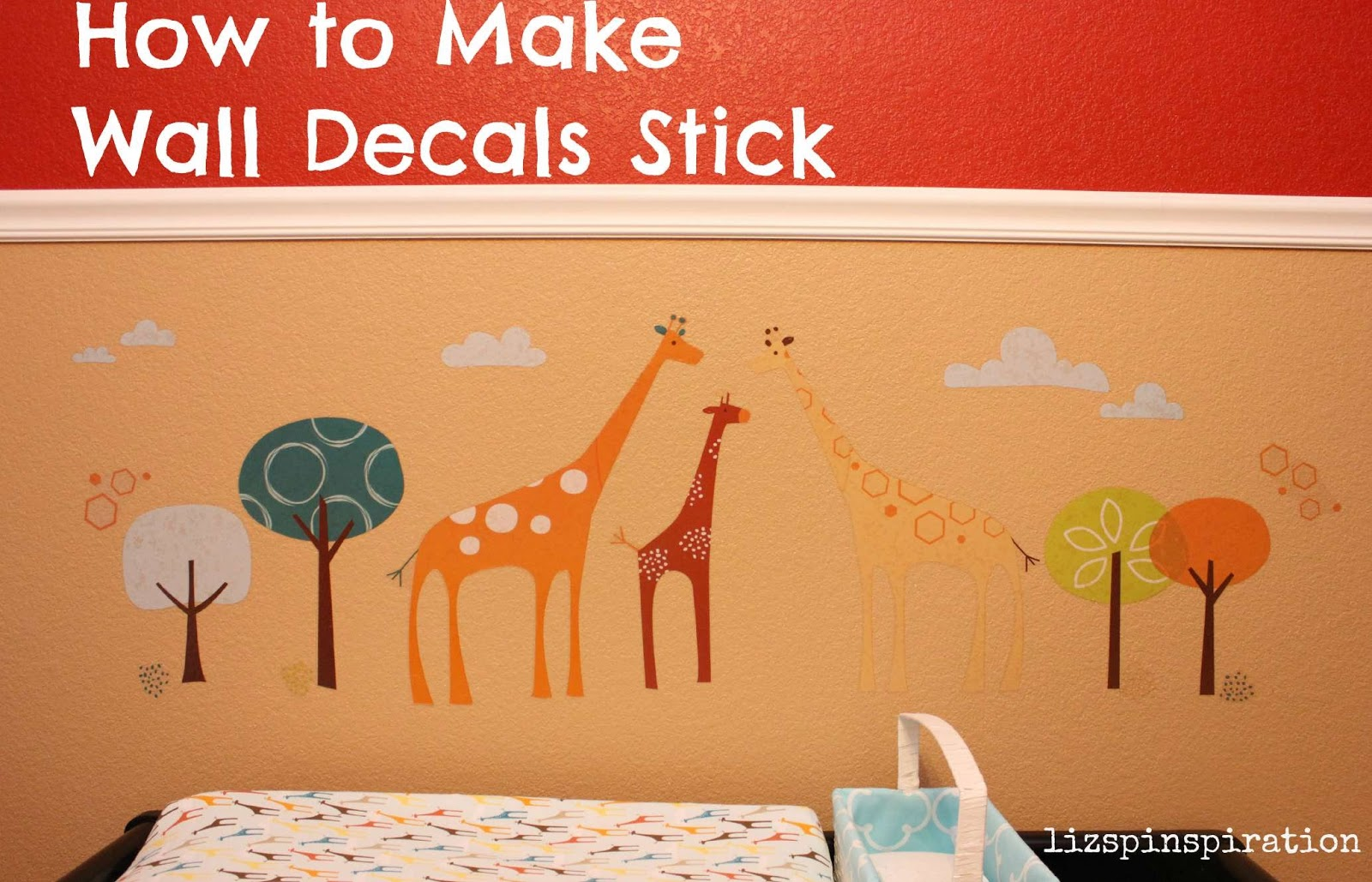 How To Make Wall Decals Stick