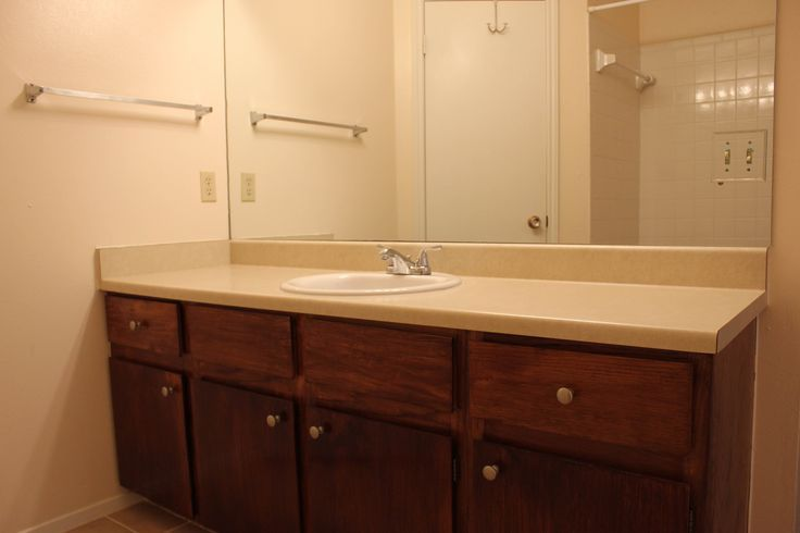 How To Refinish Bathroom Cabinets