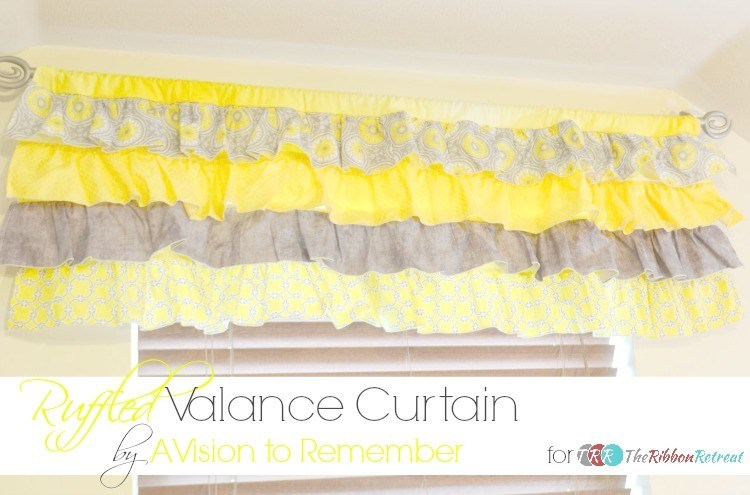How To Sew A Valance Curtain