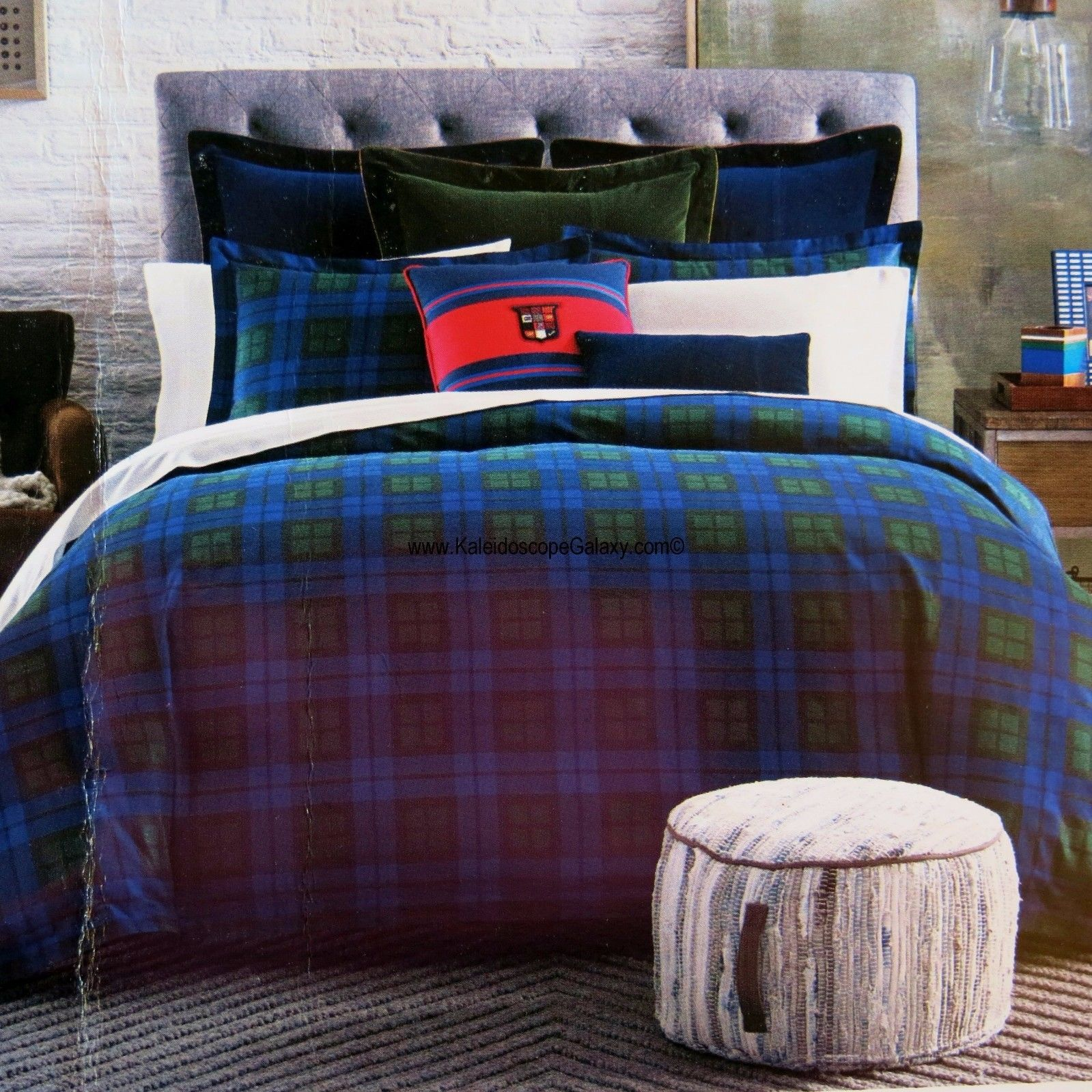Hunter Green Comforter Set King