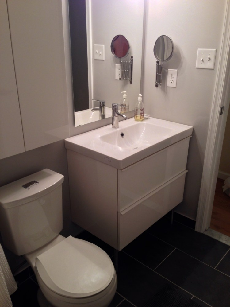 Ikea Bathroom Cabinet And Sink