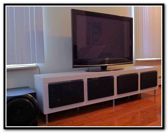 Ikea Billy Bookcase Tv Stand