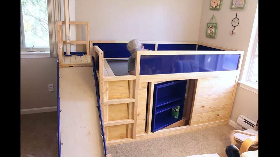 Ikea Kid Bed Hack