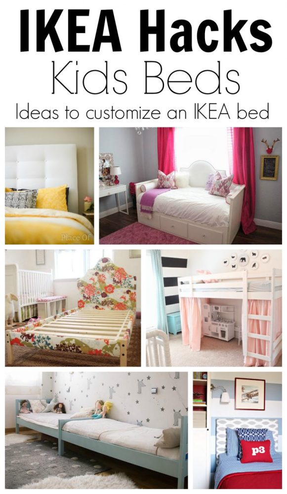 Ikea Kids Bed Hack