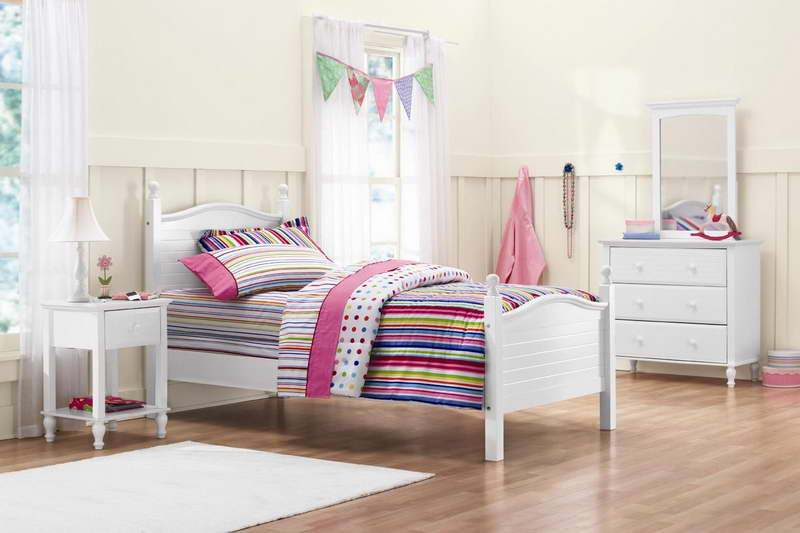 Ikea Kids Bed White