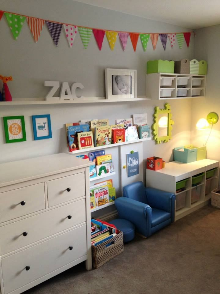 Ikea Kids Bedroom Storage