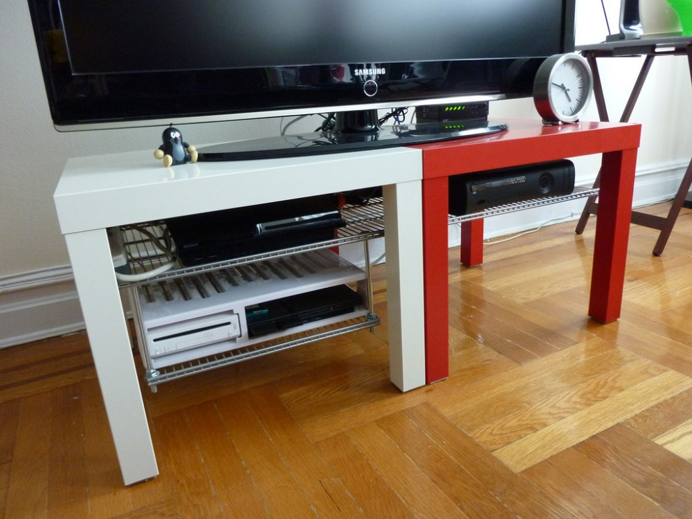Ikea Lack Tv Stand Hack
