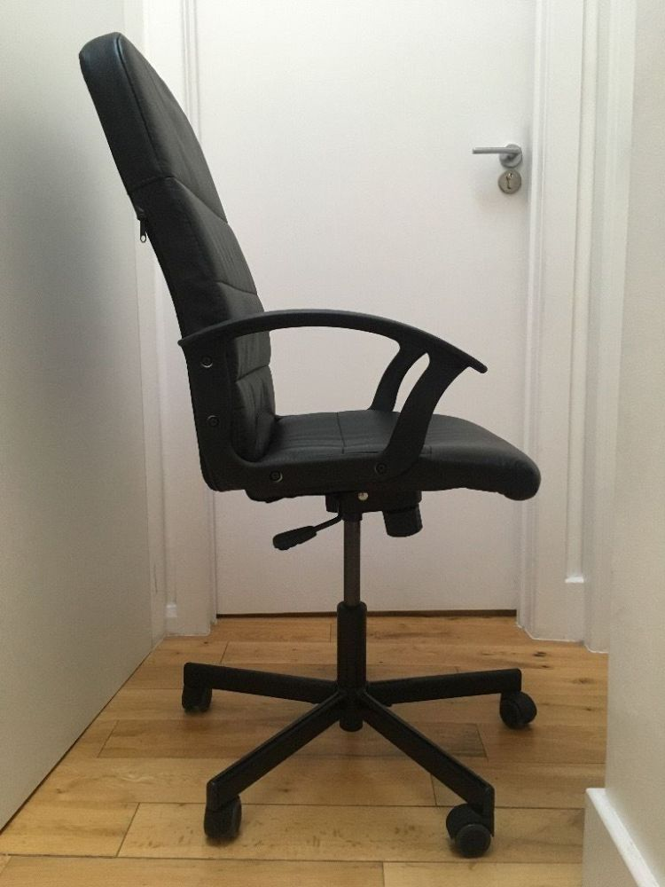 Ikea Office Chair Black