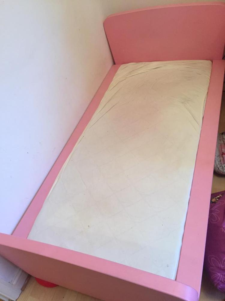 Ikea Pink Kids Bed